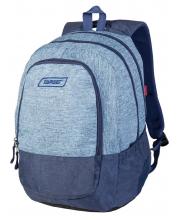 Рюкзак Duel Blue Melange 3 zip