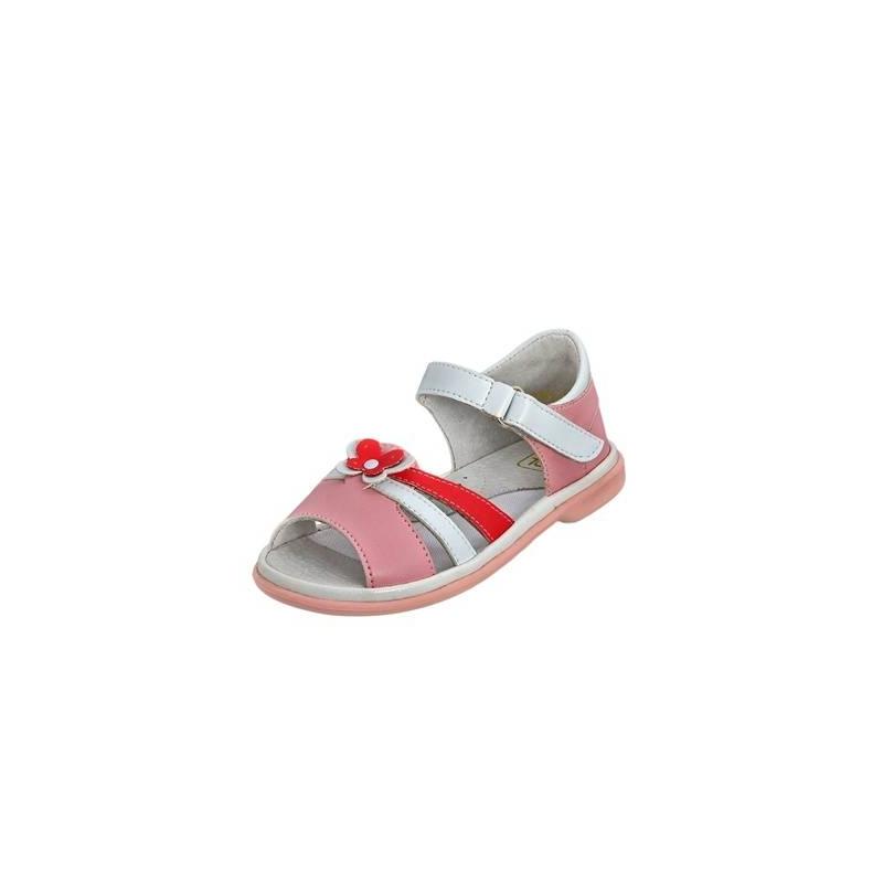 СандалетыСандалеты розовогоцвета марки Топ-Топдлядевочек.<br>Стильные сандалеты на липучке выгодно подчеркнуты вставками белого цвета, а также аппликацией в видебабочки.Подошва из ТЭП легкая и упругая,такжеимеет высокую стойкость к истиранию, такая обувь прослужит долго. Стелька из натуральной кожи позволяет ножкам дышать и отличается исключительной мягкостью.<br><br>Размер: 24<br>Цвет: Розовый<br>Пол: Для девочки<br>Артикул: 647704<br>Бренд: Россия<br>Страна производитель: Россия<br>Сезон: Весна/Лето<br>Материал верха: Искусственная кожа<br>Материал стельки: Натуральная кожа<br>Материал подошвы: ТЭП (термопластик)