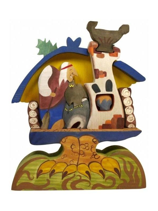 Пирамидка Баба-Яга в избушке Сказки дерева