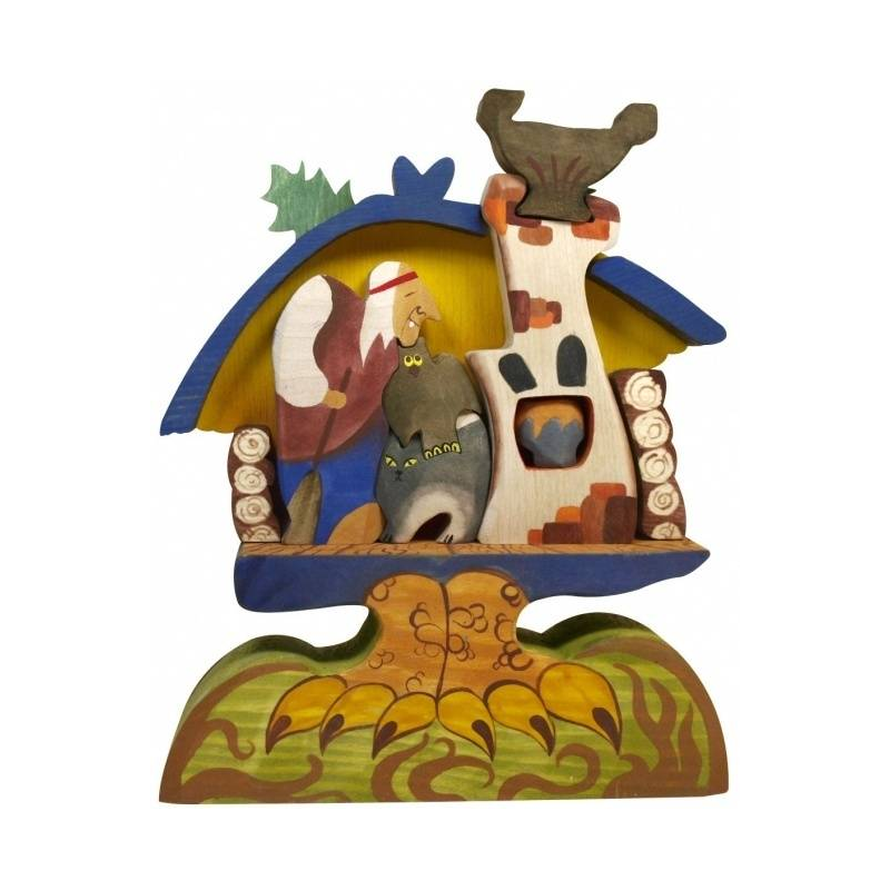 Сказки дерева Пирамидка Баба-Яга в избушке усачев андрей баба яга – золотая нога цифровая версия