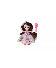 Кукла шарнирная Малышка Лили брюнетка с расческой 16 см Funky Toys
