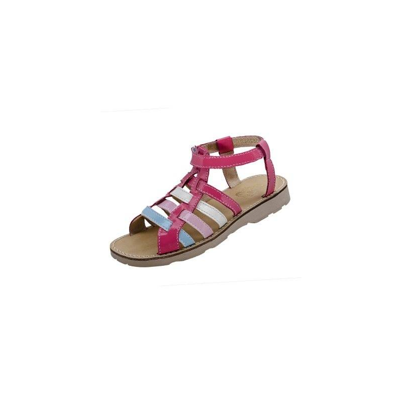 СандалетыСандалеты малиновогоцвета марки Топ-Топдлядевочек.<br>Стильные сандалеты на липучке выгодно подчеркнутыбелыми,голубыми, а также розовыми вставками.Подошва из ТЭП легкая и упругая,такжеимеет высокую стойкость к истиранию, такая обувь прослужит долго. Стелька из натуральной кожи позволяет ножкам дышать и отличается исключительной мягкостью.<br><br>Размер: 31<br>Цвет: Малиновый<br>Пол: Для девочки<br>Артикул: 647686<br>Страна производитель: Россия<br>Сезон: Весна/Лето<br>Материал верха: Искусственная кожа<br>Материал стельки: Натуральная кожа<br>Материал подошвы: ТЭП (термопластик)<br>Бренд: Россия