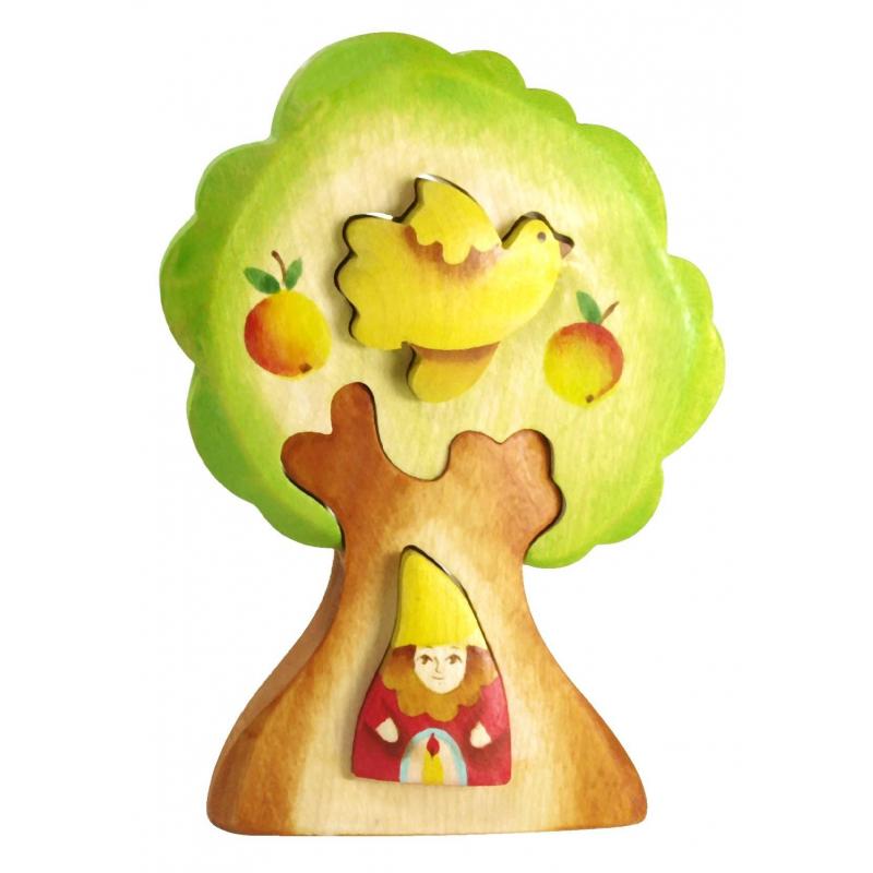 Пирамидка Гном в дереве