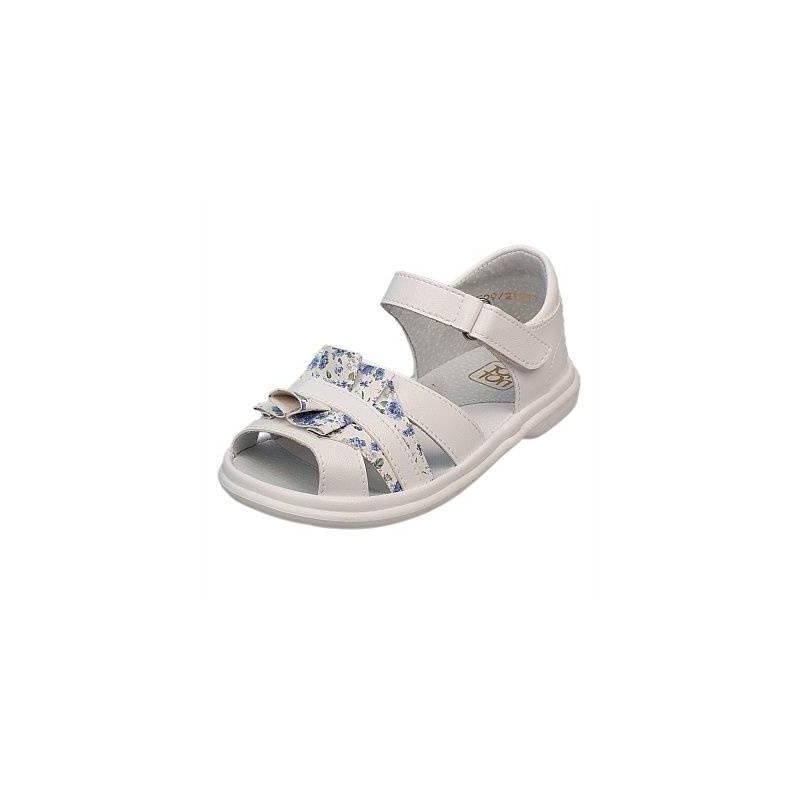 СандалетыСандалеты белогоцвета марки Топ-Топдлядевочек.<br>Стильные однотонные сандалеты на липучке выгодно подчеркнуты оборками с цветочным принтом.Подошва из ТЭП легкая и упругая,такжеимеет высокую стойкость к истиранию, такая обувь прослужит долго. Стелька из натуральной кожи позволяет ножкам дышать и отличается исключительной мягкостью.<br><br>Размер: 24<br>Цвет: Белый<br>Пол: Для девочки<br>Артикул: 647708<br>Страна производитель: Россия<br>Сезон: Весна/Лето<br>Материал верха: Искусственная кожа<br>Материал стельки: Натуральная кожа<br>Материал подошвы: ТЭП (термопластик)<br>Бренд: Россия