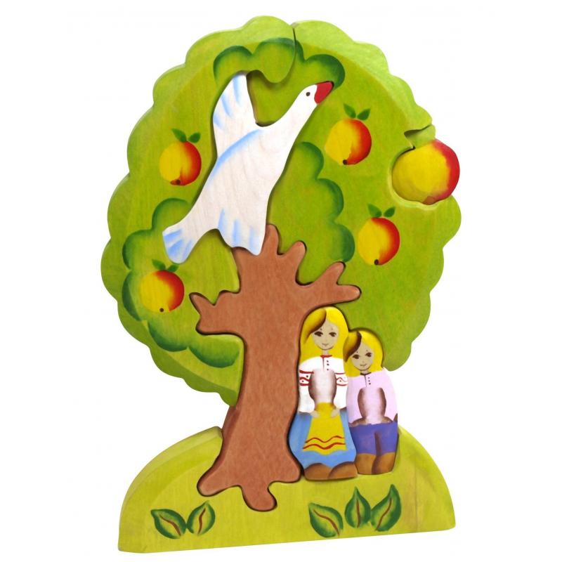 Сказки дерева Пирамидка Гуси-лебеди яблоня