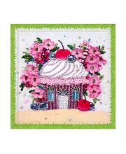 Мозаика из пайеток Вишневый десерт Волшебная мастерская