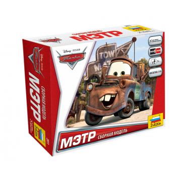 Игрушки, Сборная модель Тачки Мэтр ZVEZDA 389934, фото