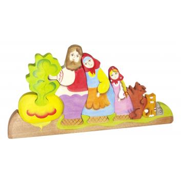 Игрушки, Пирамидка Репка Сказки дерева 647548, фото