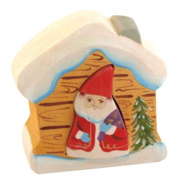 Игрушки, Пирамидка Дед Мороз в доме Сказки дерева 647540, фото