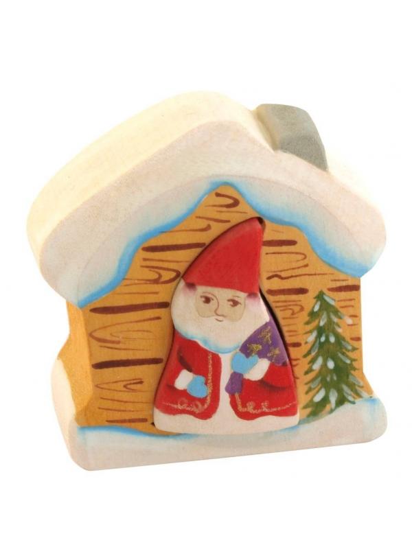 Пирамидка Дед Мороз в доме Сказки дерева