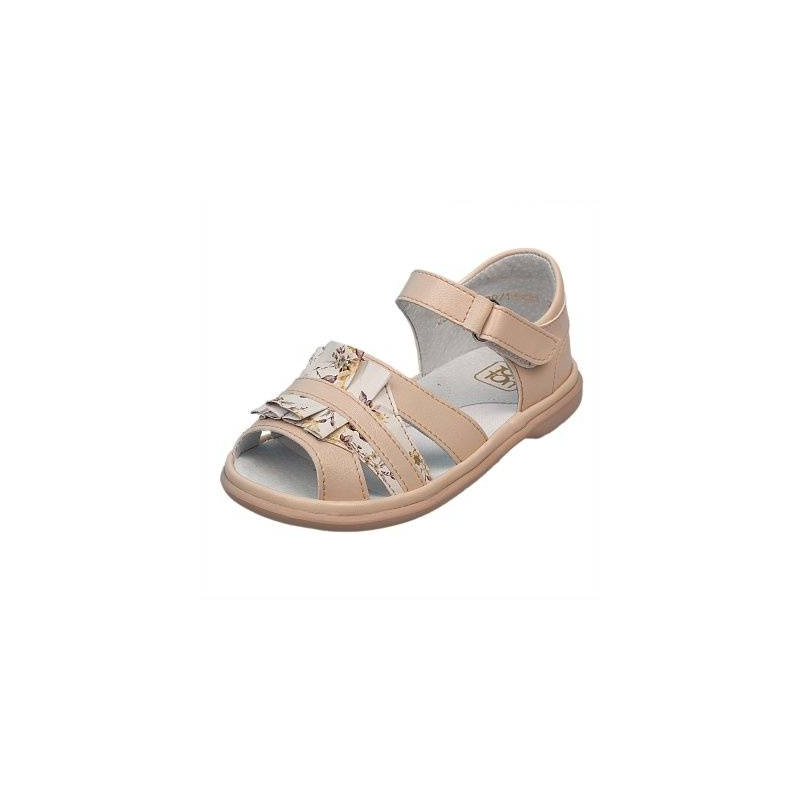 СандалетыСандалеты бежевогоцвета марки Топ-Топдлядевочек.<br>Стильные однотонные сандалеты на липучке выгодно подчеркнуты оборками с цветочным принтом.Подошва из ТЭП легкая и упругая,такжеимеет высокую стойкость к истиранию, такая обувь прослужит долго. Стелька из натуральной кожи позволяет ножкам дышать и отличается исключительной мягкостью.<br><br>Размер: 23<br>Цвет: Бежевый<br>Пол: Для девочки<br>Артикул: 647649<br>Страна производитель: Россия<br>Сезон: Весна/Лето<br>Материал верха: Искусственная кожа<br>Материал стельки: Натуральная кожа<br>Материал подошвы: ТЭП (термопластик)<br>Бренд: Россия