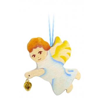 Подвеска Ангел маленький с бубенчиком