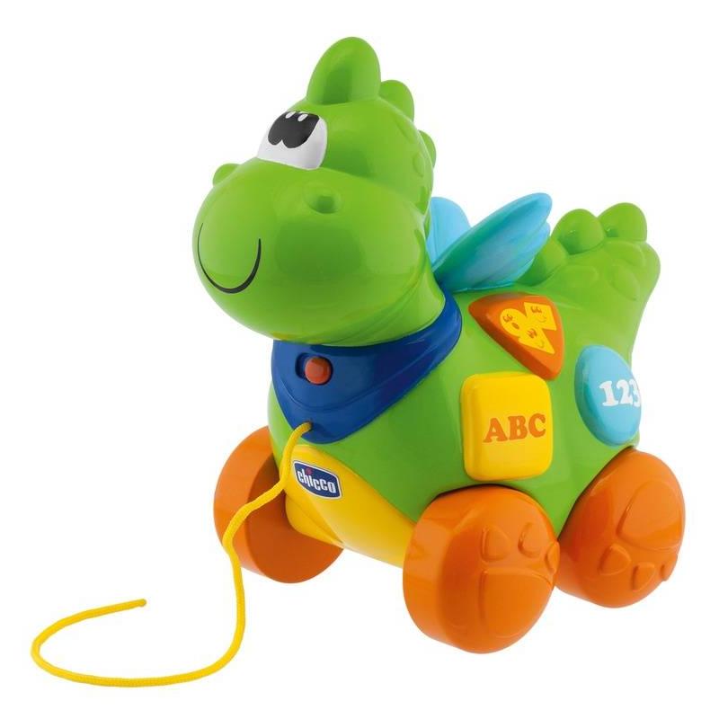 Купить Говорящий дракон на колесиках, Chicco, от 9 месяцев, Не указан, 653522