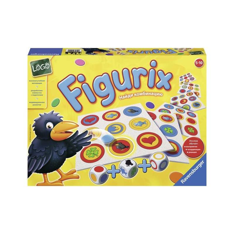 RAVENSBURGER Настольная игра Фигурикс настольная игра ravensburger ravensburger настольная игра пингвины