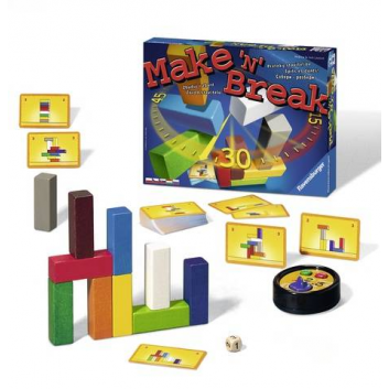 Игрушки, Настольная игра Собери-разбери RAVENSBURGER 653367, фото