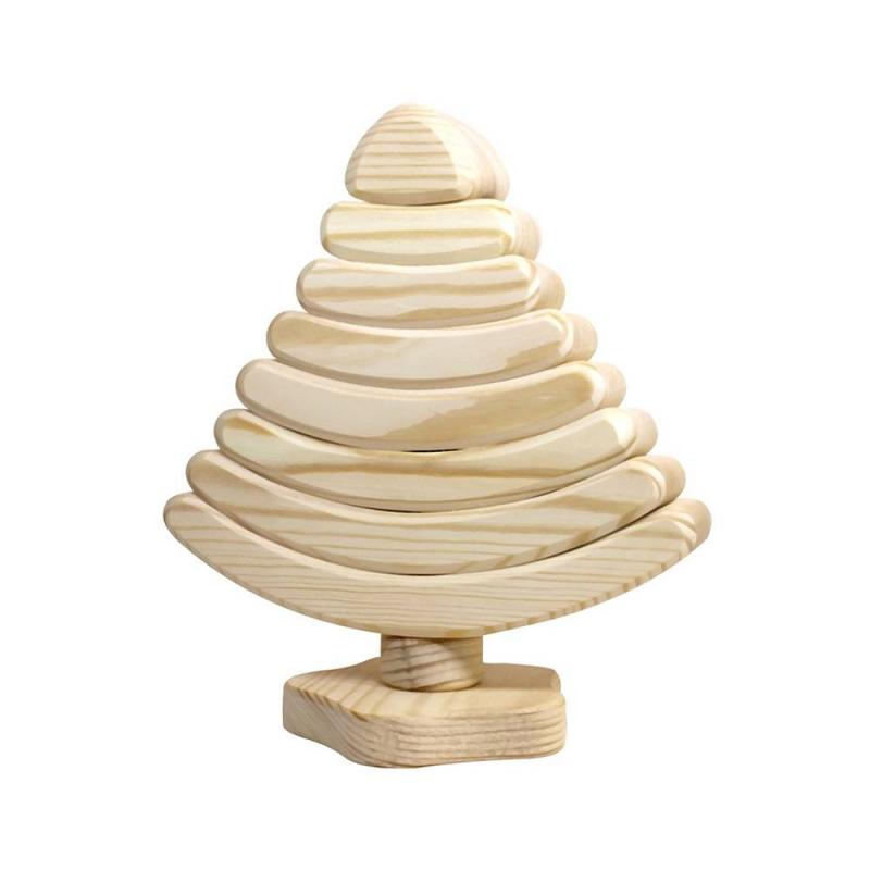 Сказки дерева Пирамидка Елочка сказки дерева подвеска ангел на луне