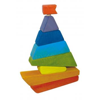 Пирамидка Избушка на курьих ножках