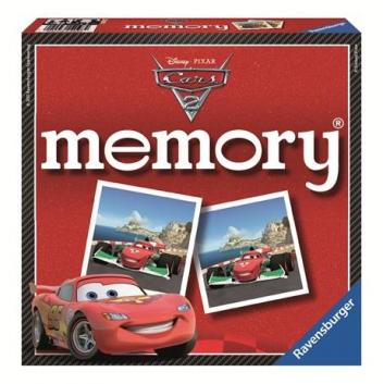 Игрушки, Настольная игра Тачки 2 72 карточки RAVENSBURGER 653352, фото