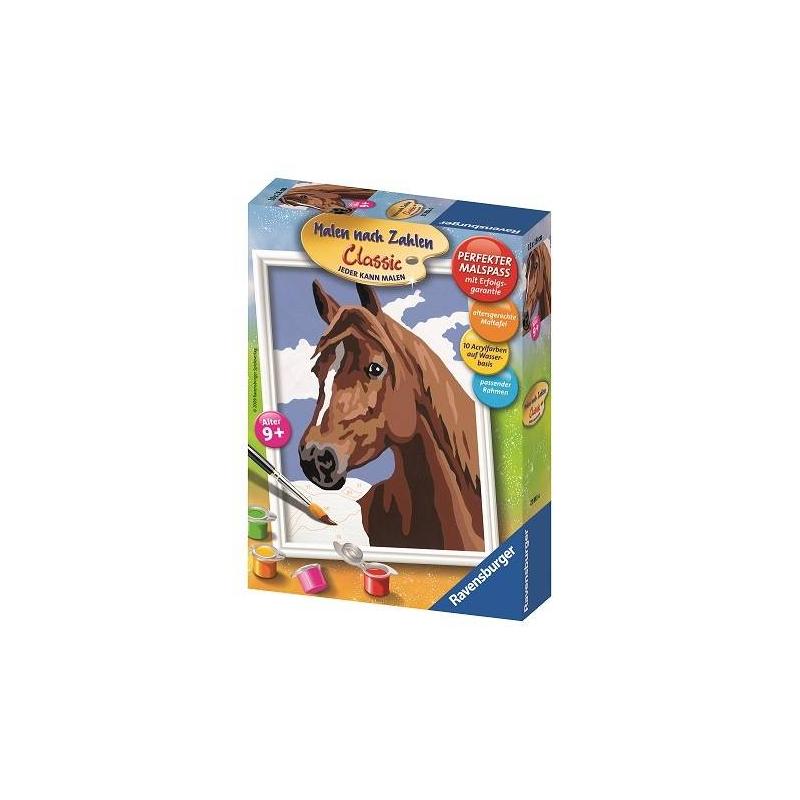 RAVENSBURGER Картина по номерам Лошадь