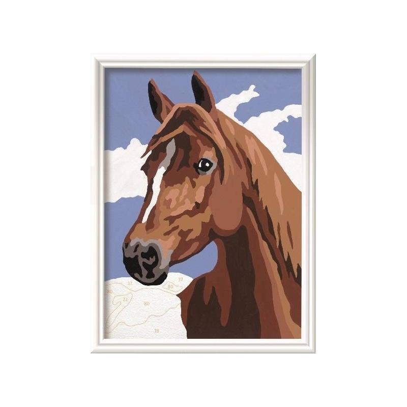 Картина по номерам Лошадь от Nils