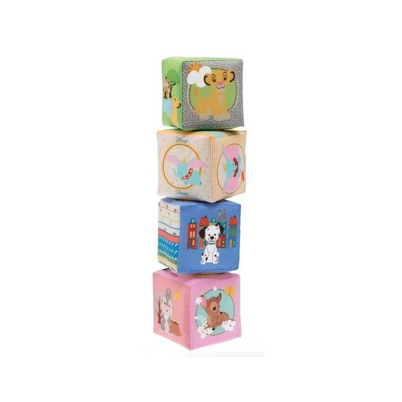 Chicco Мягкие кубики Disney