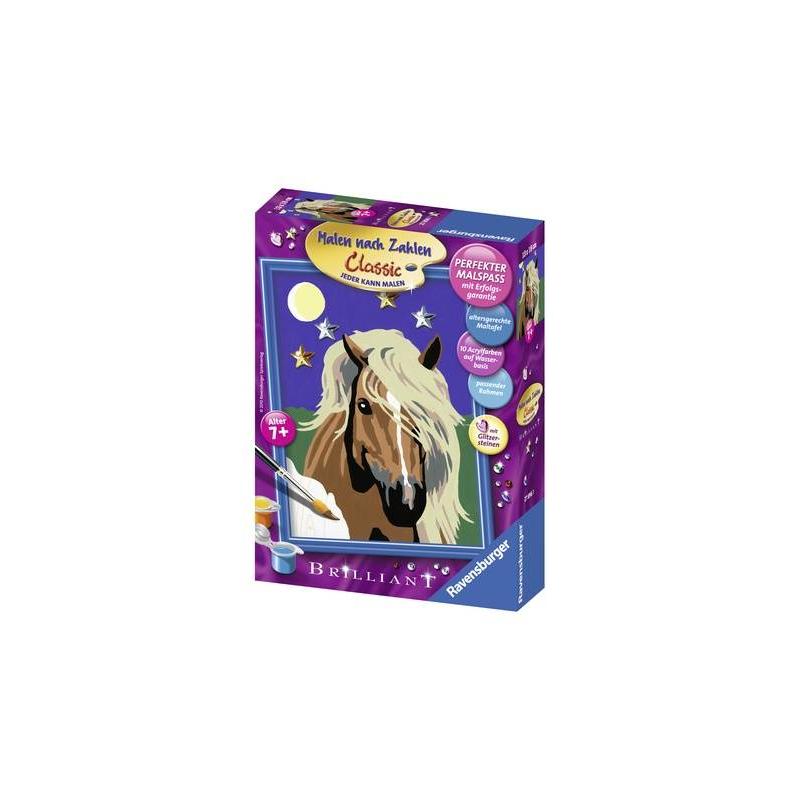RAVENSBURGER Картина по номерам Лошадь в лунном свете