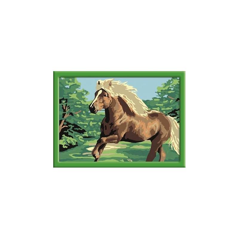 Картина по номерам Лошадь в поле от Nils