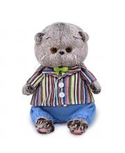 Мягкая игрушка Басик BABY в полосатом пиджаке 20 см BUDI BASA