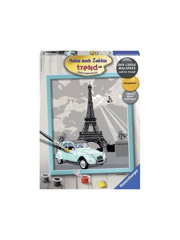 Картина по номерам Париж RAVENSBURGER