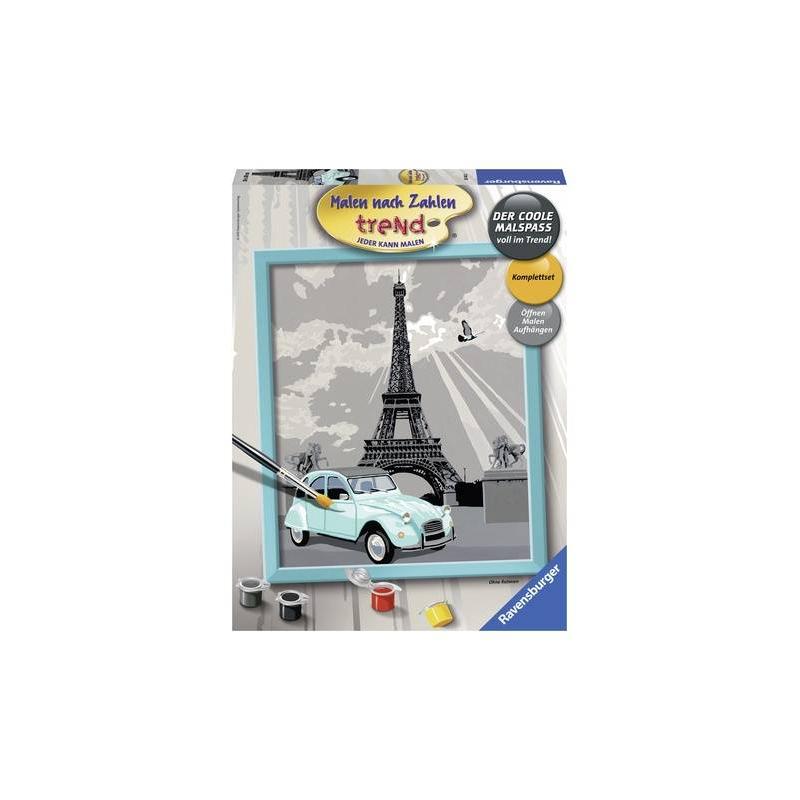 RAVENSBURGER Картина по номерам Париж