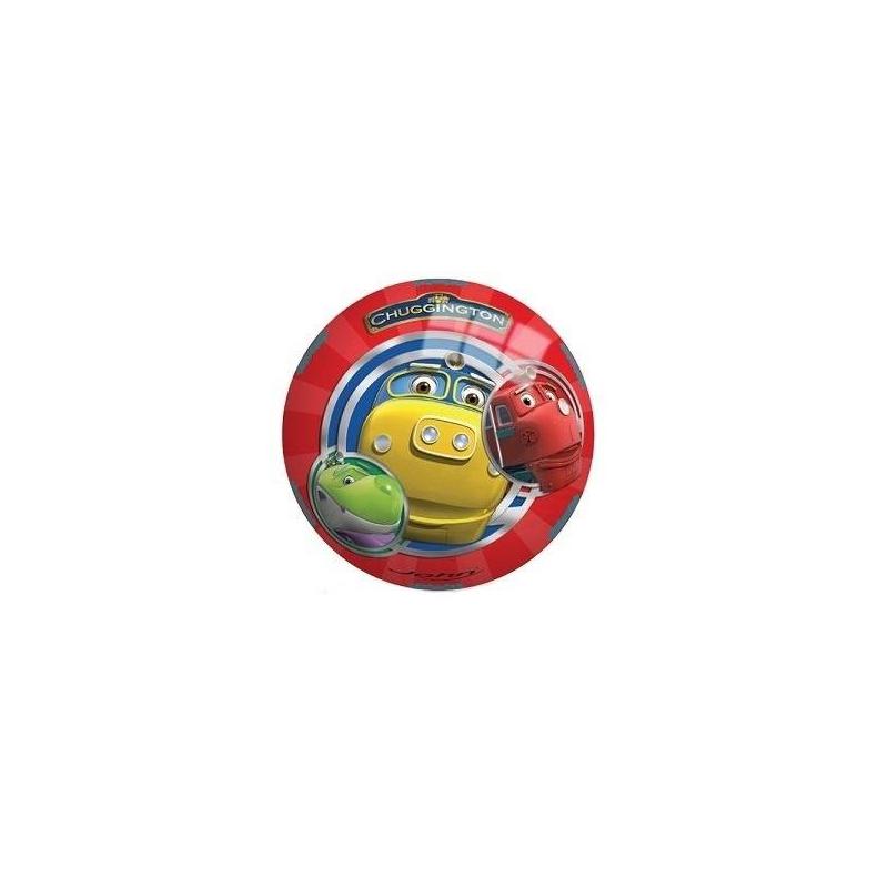 Мяч Чаггингтон 13 смМяч Чаггингтон 13сммаркиJohn.<br>Мячик украшен изображениями персонажей мультфильма Chuggington. Легкий мяч выполнен из прочного ПВХ и подходит для активных игр на свежем воздухе, а благодаря небольшому размеру его удобно кидать и ловить. Игрушка тренирует ловкость и координацию движений.<br><br>Возраст от: 12 месяцев<br>Пол: Для мальчика<br>Артикул: 653412<br>Бренд: Германия<br>Лицензия: Chuggington<br>Размер: от 12 месяцев