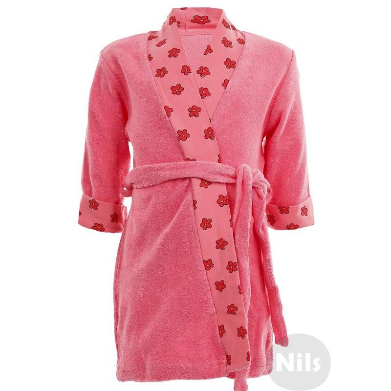 ХалатХлопковый халат розовогоцвета марки PELICAN для девочек. Махровый халат с поясом выполнен из стопроцентного хлопка и украшен отделкой из хлопкового трикотажа в цветочек.<br><br>Размер: 4 года<br>Цвет: Розовый<br>Рост: 104<br>Пол: Для девочки<br>Артикул: 605753<br>Страна производитель: Китай<br>Сезон: Всесезонный<br>Состав: 100% Хлопок<br>Бренд: Россия