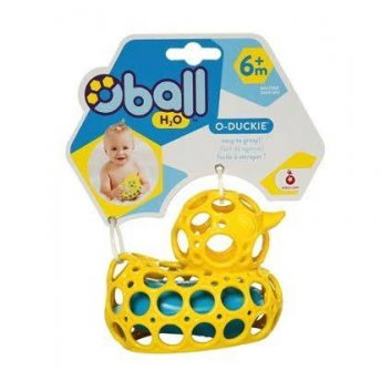 Игрушки, Игрушка для купания Уточка Oball (желтый)653330, фото