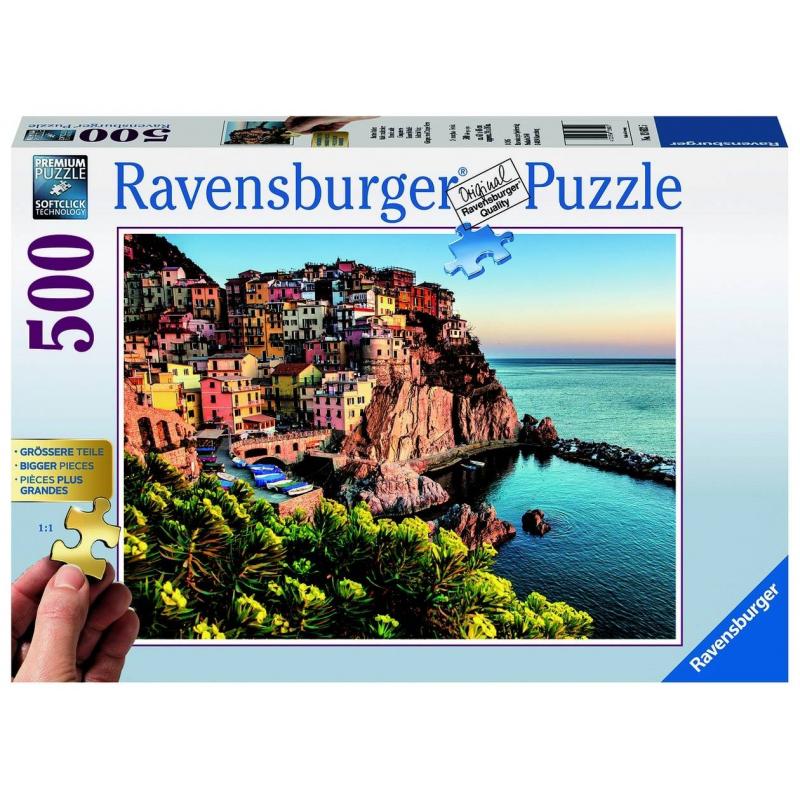 RAVENSBURGER Пазл Прекрасная Италия 500 деталей ravensburger пазл кафе в старом городе 500 деталей