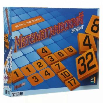 Настольная игра Математический эрудит