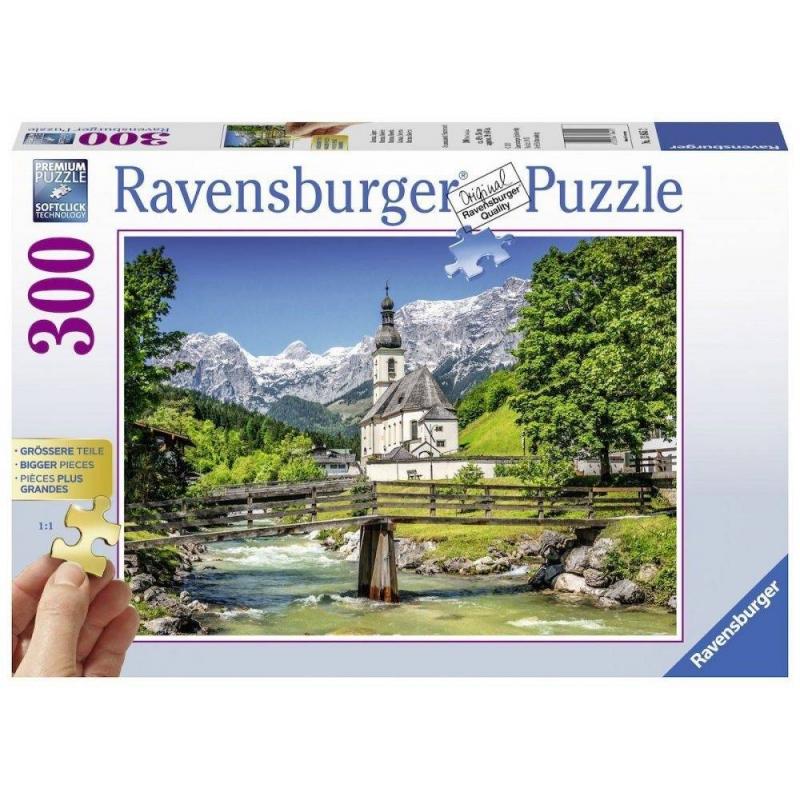 RAVENSBURGER Пазл Рамзау Бавария 300 деталей пазл ravensburger сладкие сны 300 элементов