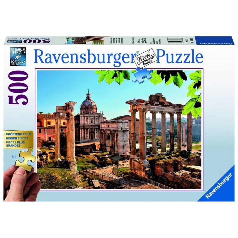 RAVENSBURGER Пазл Римские руины Италия 500 деталей ravensburger пазл кафе в старом городе 500 деталей