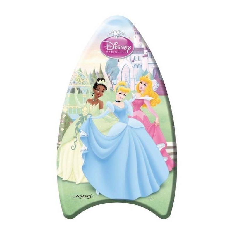 Доска для плавания ПринцессыДоска для плавания Принцессы маркиJohn.<br>Доска украшена изображениями принцесс Диснея. Изделие выполнено из легкого материала, что позволяет без труда держаться на плаву. Малышка с удовольствием будет залезать в воду, чтобы научиться плавать. А когда ребенок уже уверенно будет держаться в воде, то можно придумать множество разнообразных игр и занятий, используя доску для плавания.<br>Длина: 81см.<br><br>Возраст от: 3 года<br>Пол: Для девочки<br>Артикул: 653445<br>Бренд: Германия<br>Лицензия: Disney<br>Размер: от 3 лет
