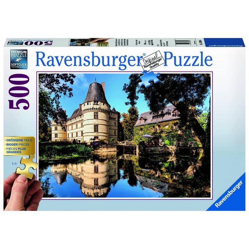 RAVENSBURGER Пазл Замок Ислетт Франция 500 деталей пазл магнитный 27 4 x 30 4 210 элементов printio замок иф
