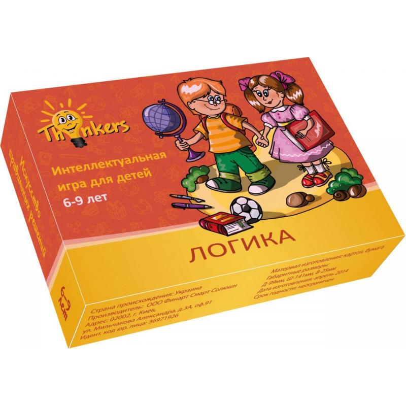 Купить Логическая игра Логика, Thinkers, от 6 лет, Не указан, 658121