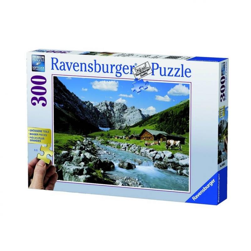 RAVENSBURGER Пазл Гора Карвендель 300 деталей цена