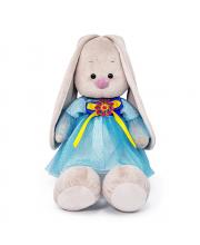 Мягкая игрушка Зайка Ми в платье с брошкой BUDI BASA