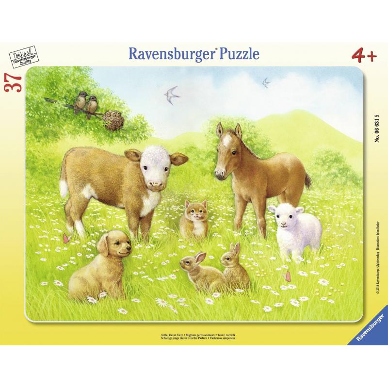 RAVENSBURGER Пазл На лугу 37 деталей пазлы ravensburger пазл коровы на лугу 15 элементов