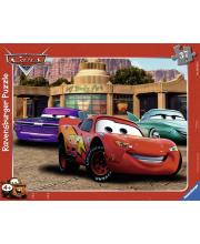 Пазл Тачки: автомобильные друзья