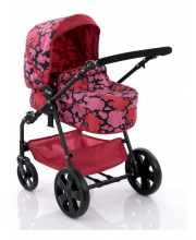 Коляска для кукол iCoo Pacific XL 2 in 1 Flora Hauck