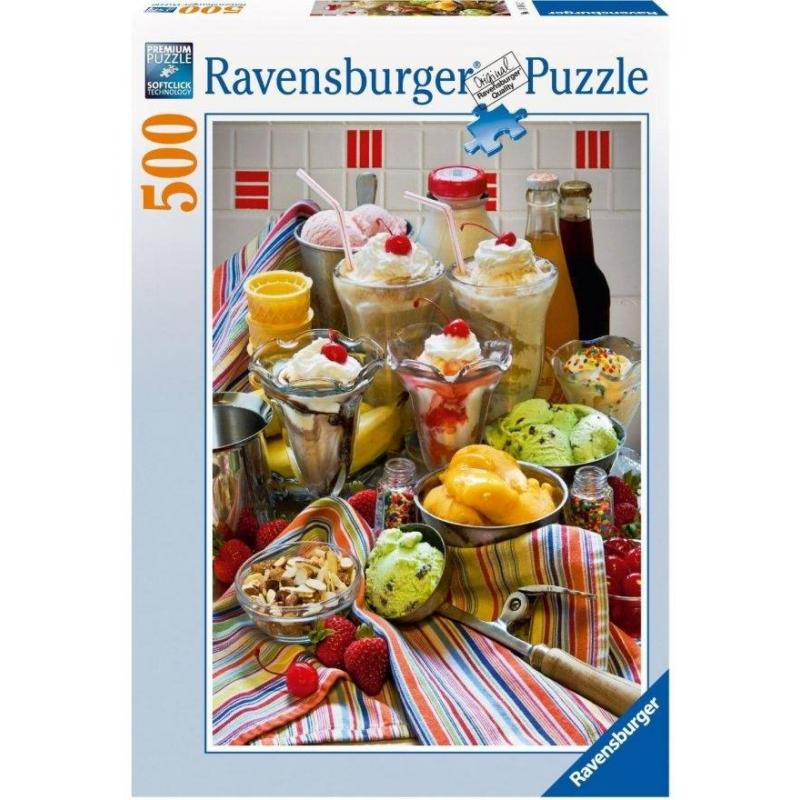 RAVENSBURGER Пазл Просто дессерты 500 деталей ravensburger пазл кафе в старом городе 500 деталей