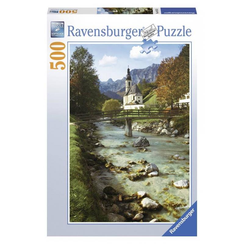 RAVENSBURGER Пазл Горная Бавария 500 деталей ravensburger пазл кафе в старом городе 500 деталей