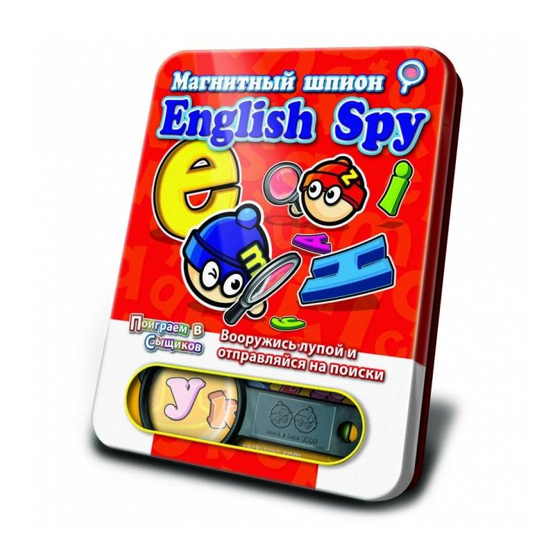 Mack&Zack Магнитная игра English Spy mastering english prepositions