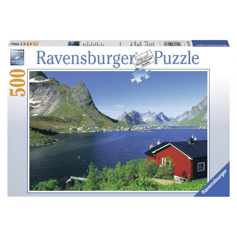 RAVENSBURGER Пазл Норвежский фьорд 500 деталей ravensburger пазл прима балерина 500 деталей