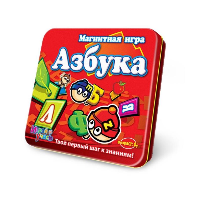 Купить Магнитная игра Азбука, Mack&Zack, от 4 лет, Не указан, 658138